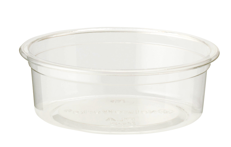Cups 2 oz Insert for 9 oz Cold Cup, Flat, Clear