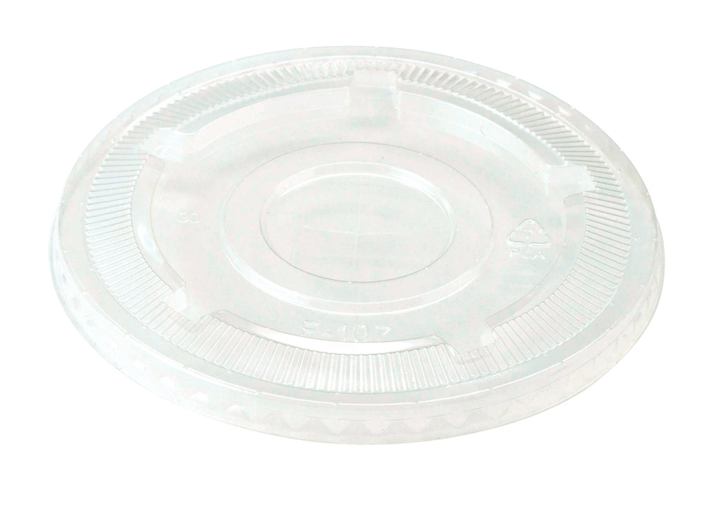 Cups LID PLA - 32 oz Cold Cups, Straw Hole, Clear