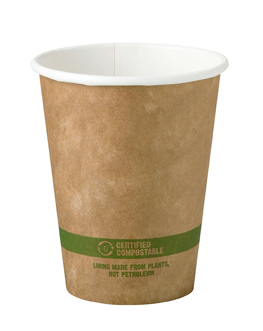 Cups 8 oz Paper Hot Cup - Kraft