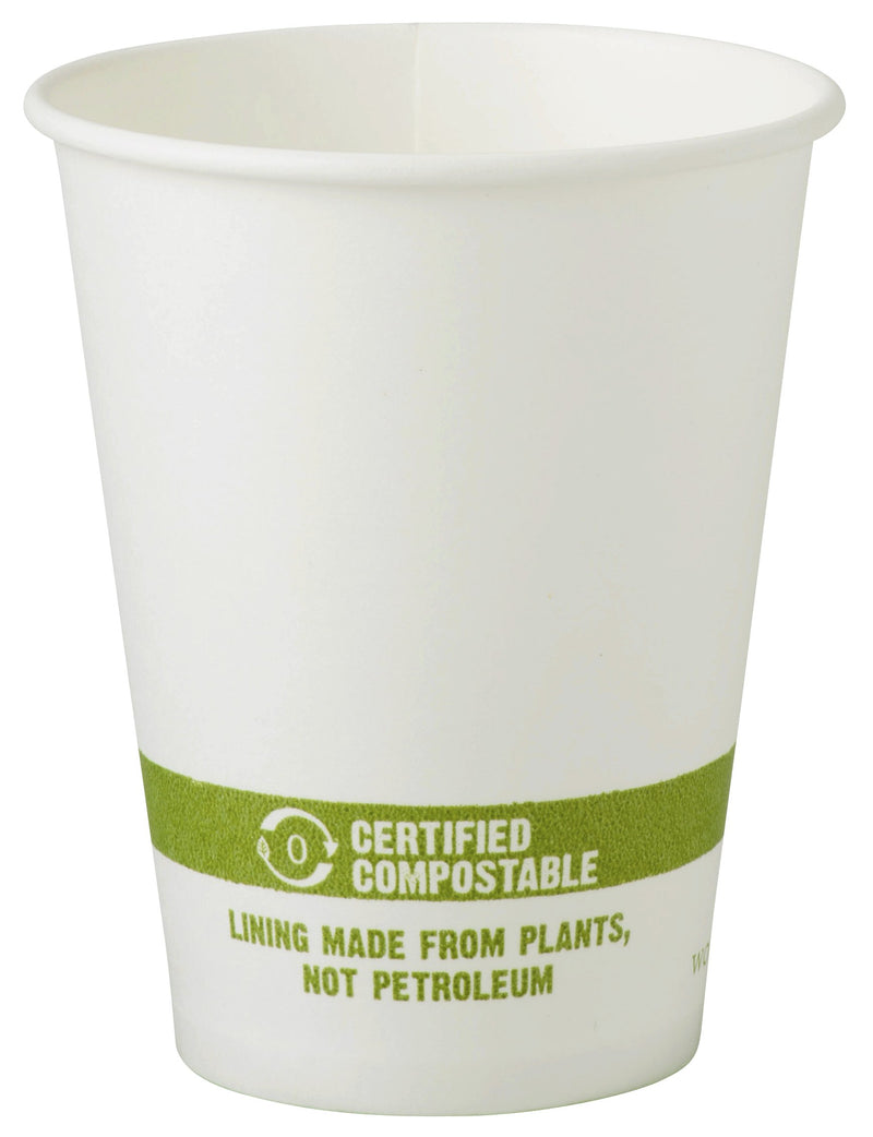 Cups 10 oz Paper Hot Cup - White