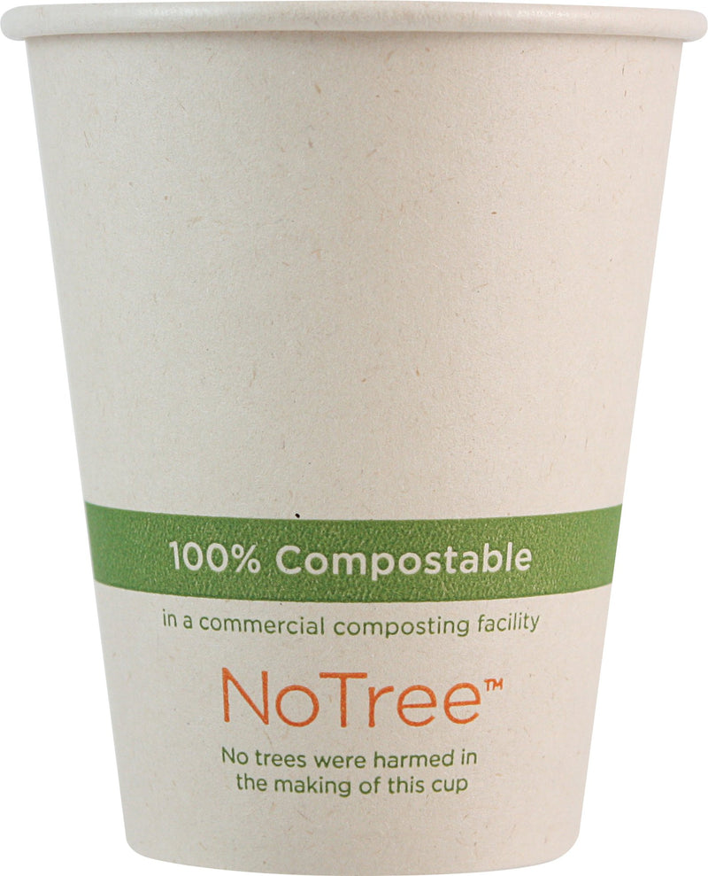 Cups 8 oz NoTree Paper Cup