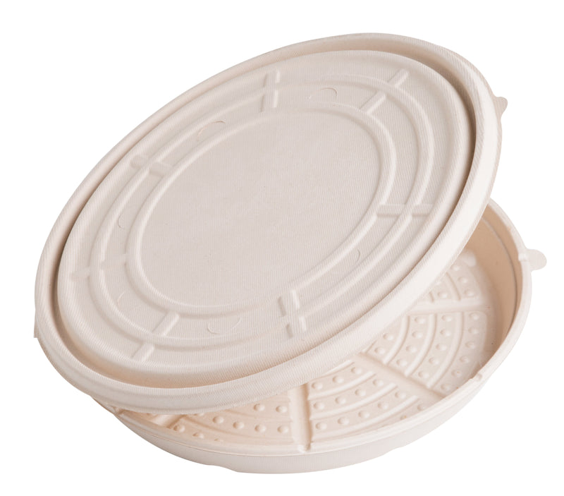 "Take Out 12"" PizzaRound Fiber Container"