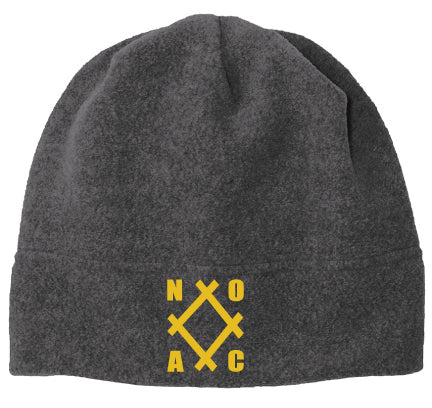 NOAC - Port Authority Fleece Beanie in Midnight Heather