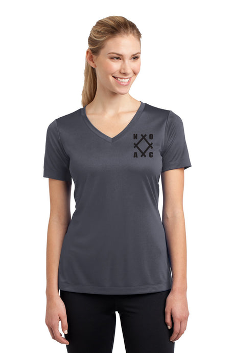 NOAC - Ladies PosiCharge® Competitor™ V-Neck Tee