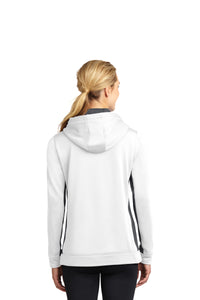 NOAC - Sport-Tek® Ladies Sport-Wick® Fleece Colorblock Hooded Pullover