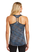 NOAC - OGIO® ENDURANCE Ladies Verge Racerback Tank Electric Blue LOE327