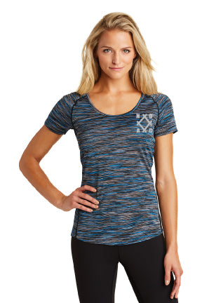 NOAC - OGIO® ENDURANCE Ladies Verge Scoop Neck Electric Blue LOE326