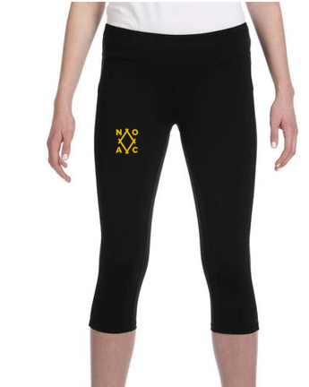 Ladies' Capri Legging (All Sport #W5009)