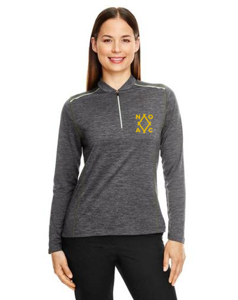 Ladies' Kinetic Performance Quarter-Zip (#CE401W)