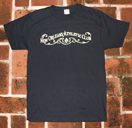 Classic New Orleans Athletic Club Black T-Shirt