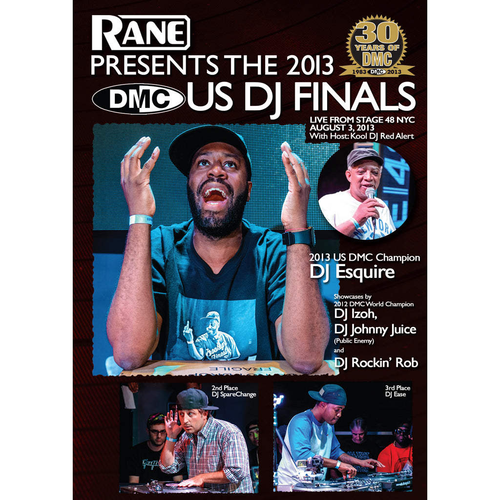 DMC USA DJ FINAL 2013 - Presented by Rane