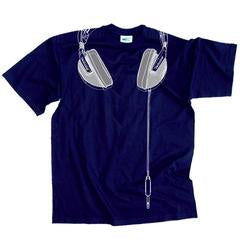 Technics Headphones T-shirt - Navy