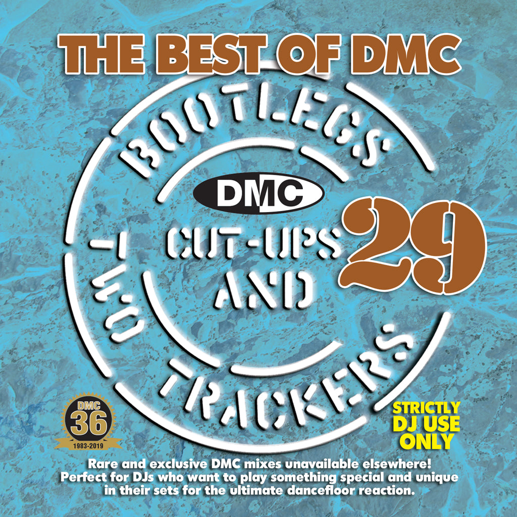 Check Out The Best Of DMC Bootlegs, Cut Ups & 2 Trackers Vol. 29 - Rare and exclusive DMC mixes unavailable elsewhere - this new release is not included in this weekend's sale On The DMC Store