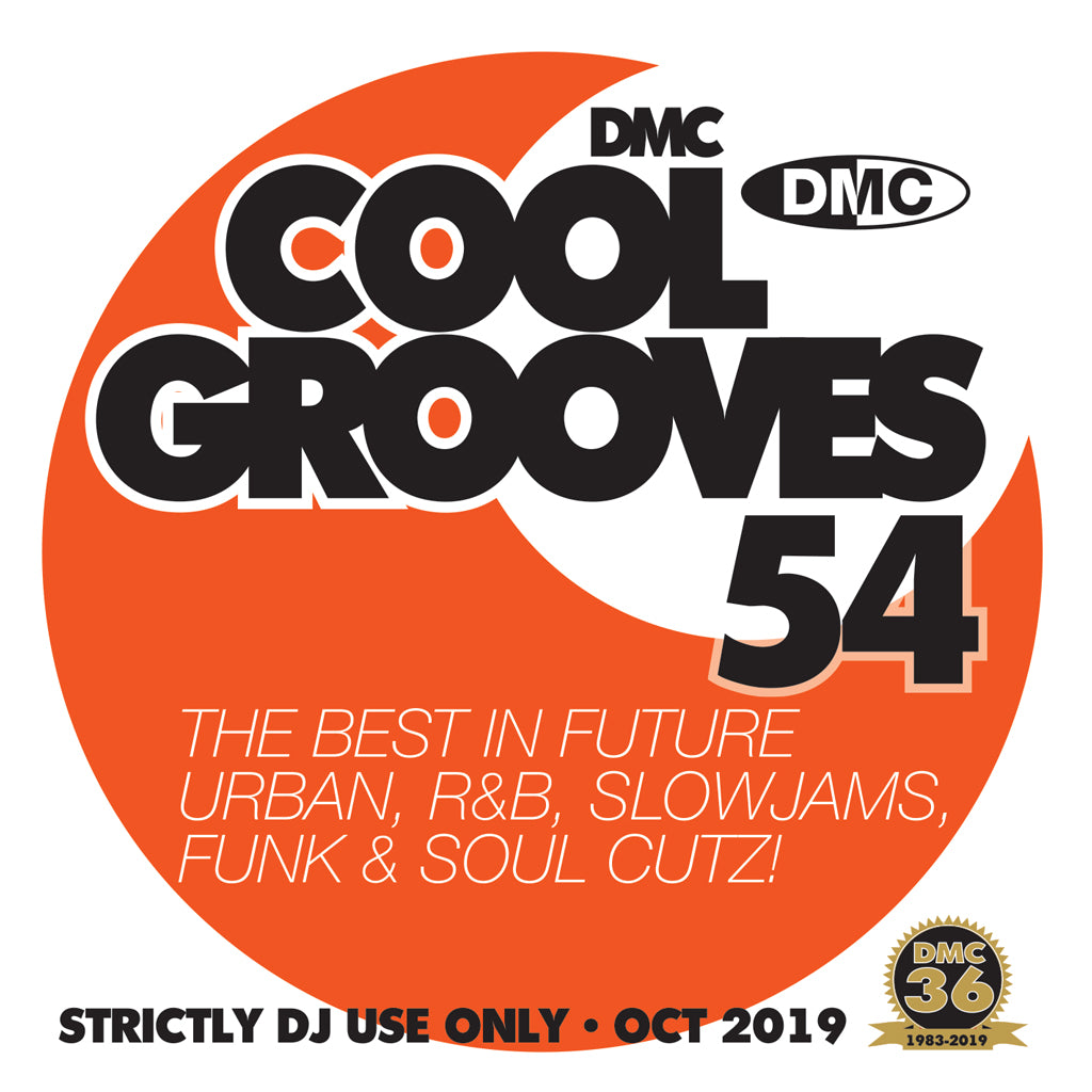 COOL GROOVES 54  THE BEST IN COOLER HITS - October 2019