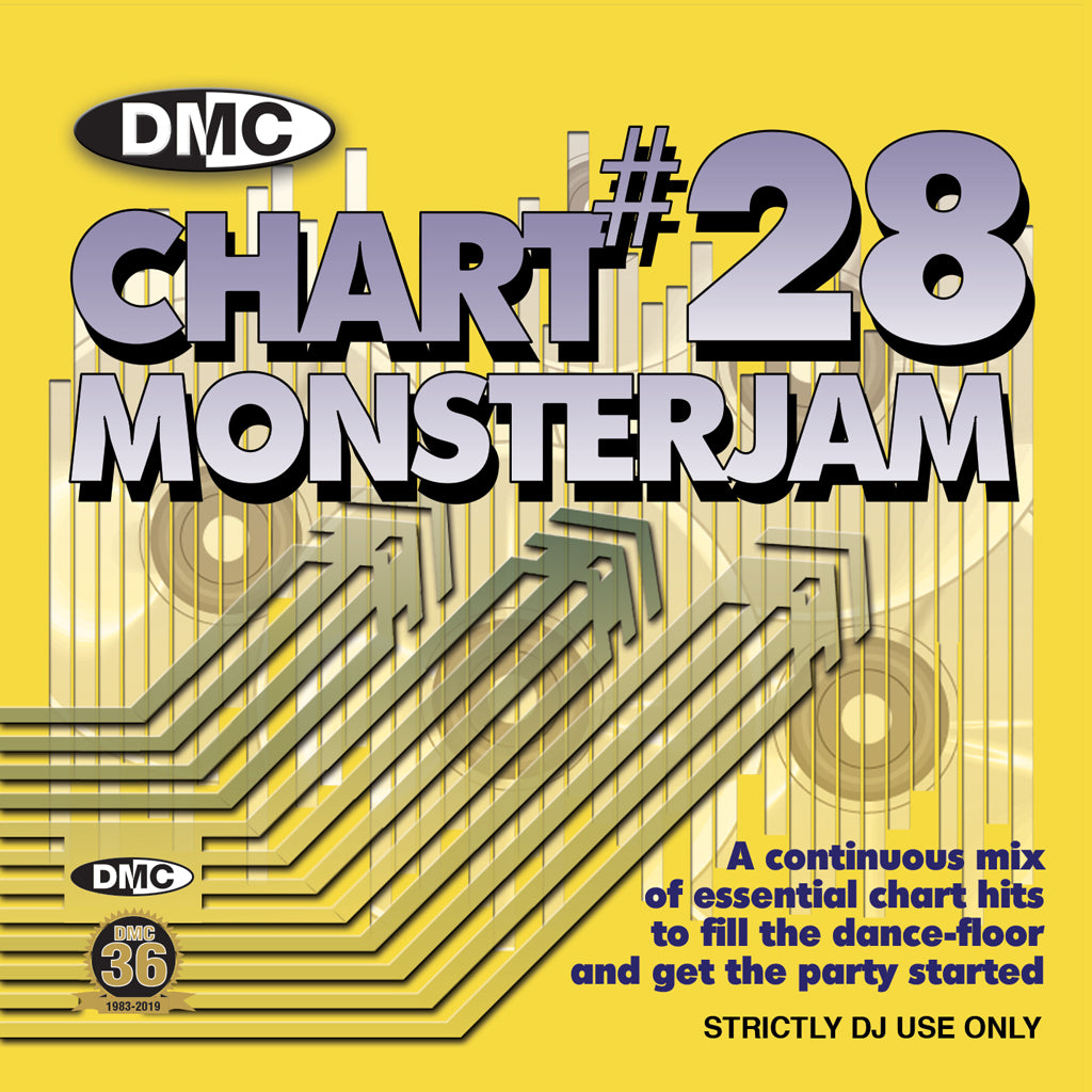 DMC CHART MONSTERJAM #28 - From Warm Up To Floorfillers In The Mix! - Release May 2019