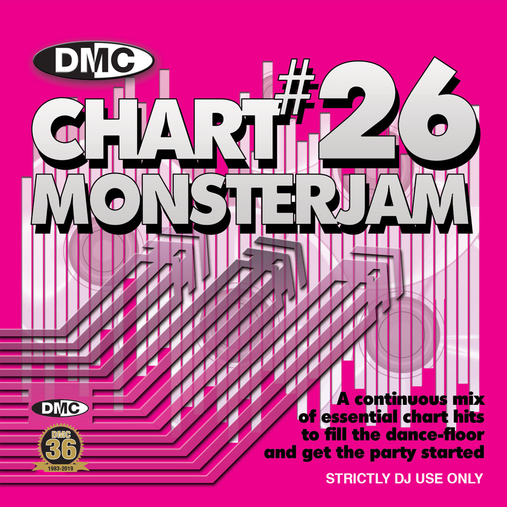 Check Out DMC Chart Monsterjam 26 - FEBRUARY 2019 RELEASE On The DMC Store