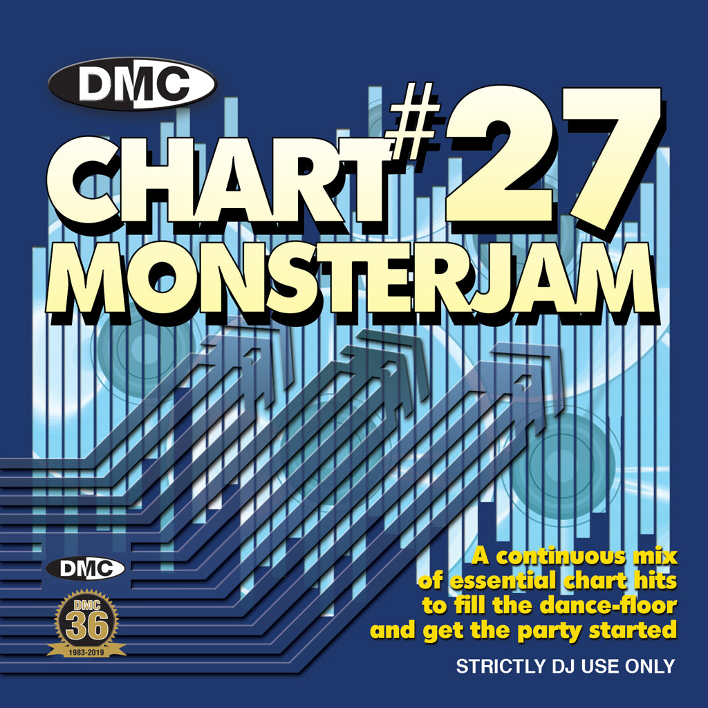 Check Out DMC Chart Monsterjam 27 -(Mixed) - March 2019 release On The DMC Store