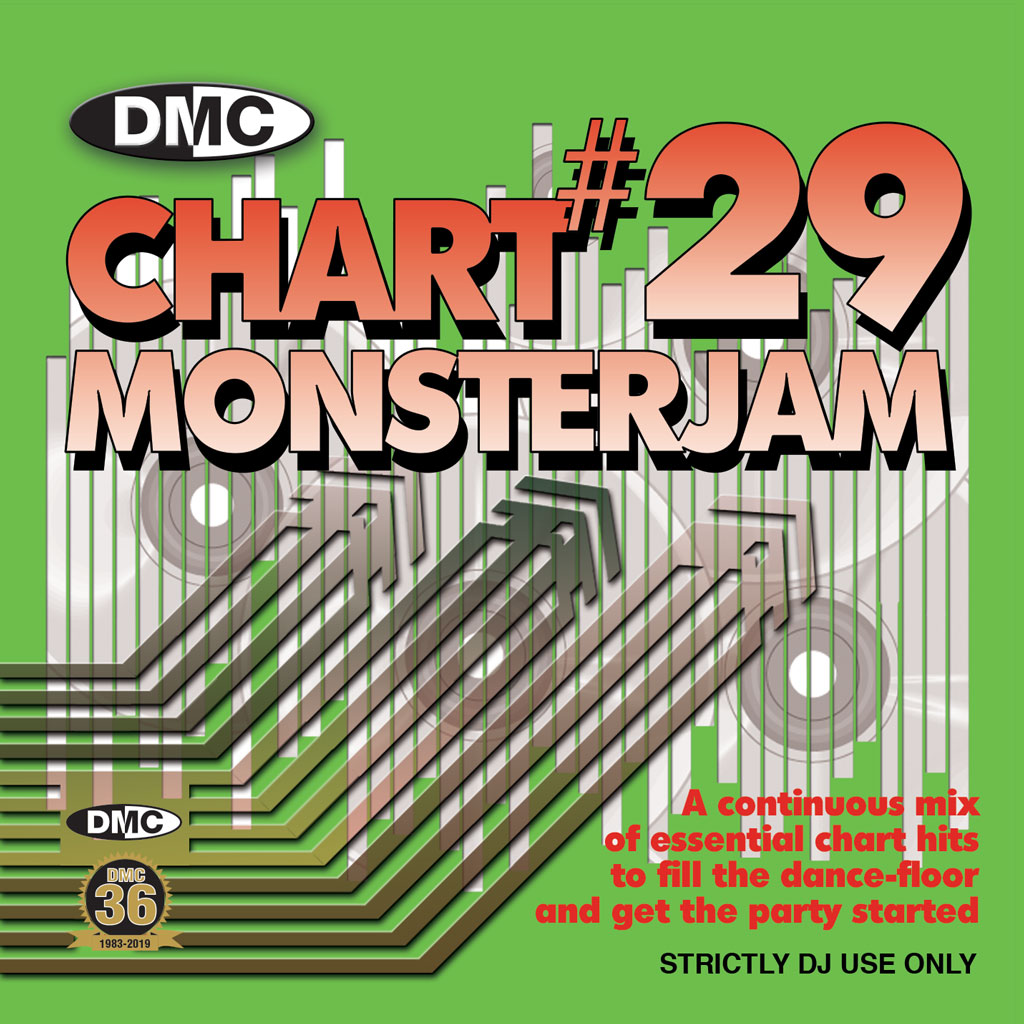 DMC CHART MONSTERJAM #29 - From Warm Up To Floorfillers In The Mix!  DJ friendly with individual ids. May 2019