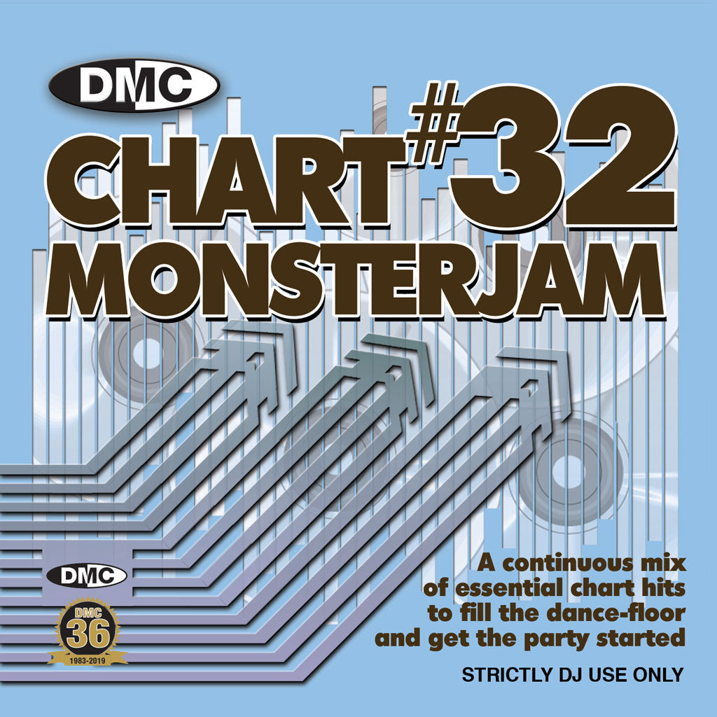 Check Out DMC CHART MONSTERJAM #32 -  From Warm Up To Floorfillers In The Mix! - August 2019 On The DMC Store