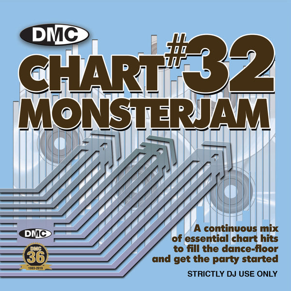 DMC CHART MONSTERJAM #32 -  From Warm Up To Floorfillers In The Mix! - August 2019