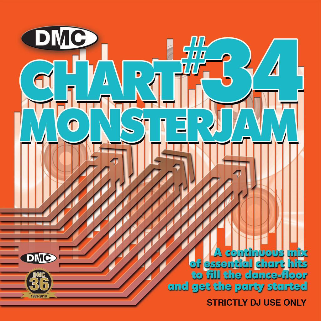 DMC Chart Monsterjam 34 - October 2019
