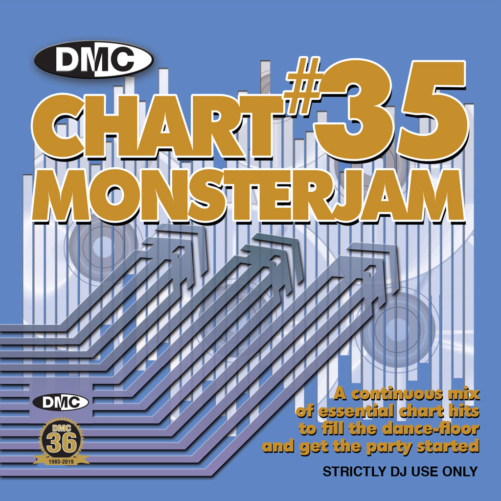 DMC Chart Monsterjam Volume 35 CD- November 2019