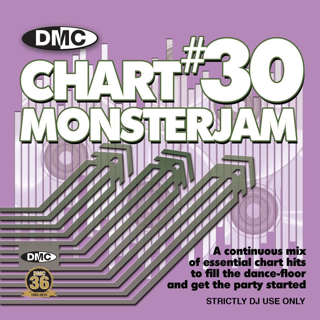 Check Out DMC CHART MONSTERJAM #30  From Warm Up To Floorfillers -A continuous mix - released June 2019 On The DMC Store