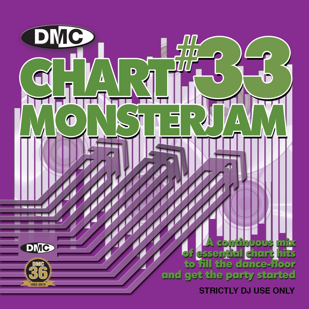 Check Out DMC CHART MONSTERJAM #33  From Warm Up To Floorfillers In The Mix! - September 2019 On The DMC Store