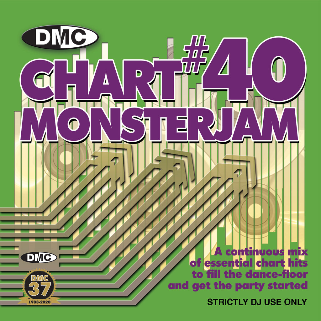 Check Out DMC CHART MONSTERJAM 40 - May 2020 release On The DMC Store