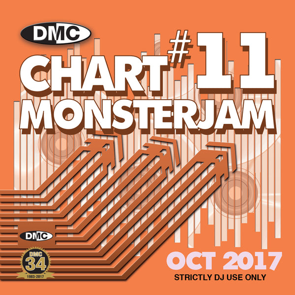 DMC Chart Monsterjam 11  - October 2017 release