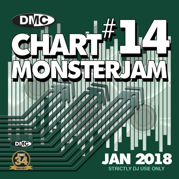 DMC CHART MONSTERJAM #14  -  From Warm Up To Floorfillers In The Mix! - January 2018 release