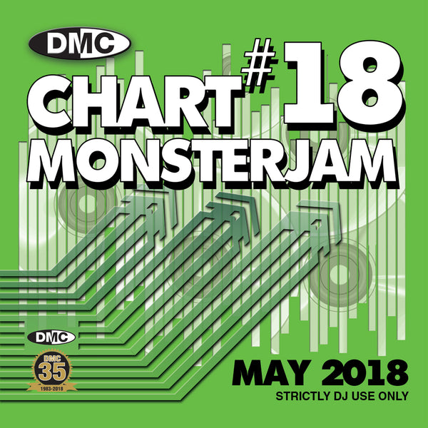 DMC CHART MONSTERJAM #18 - new release