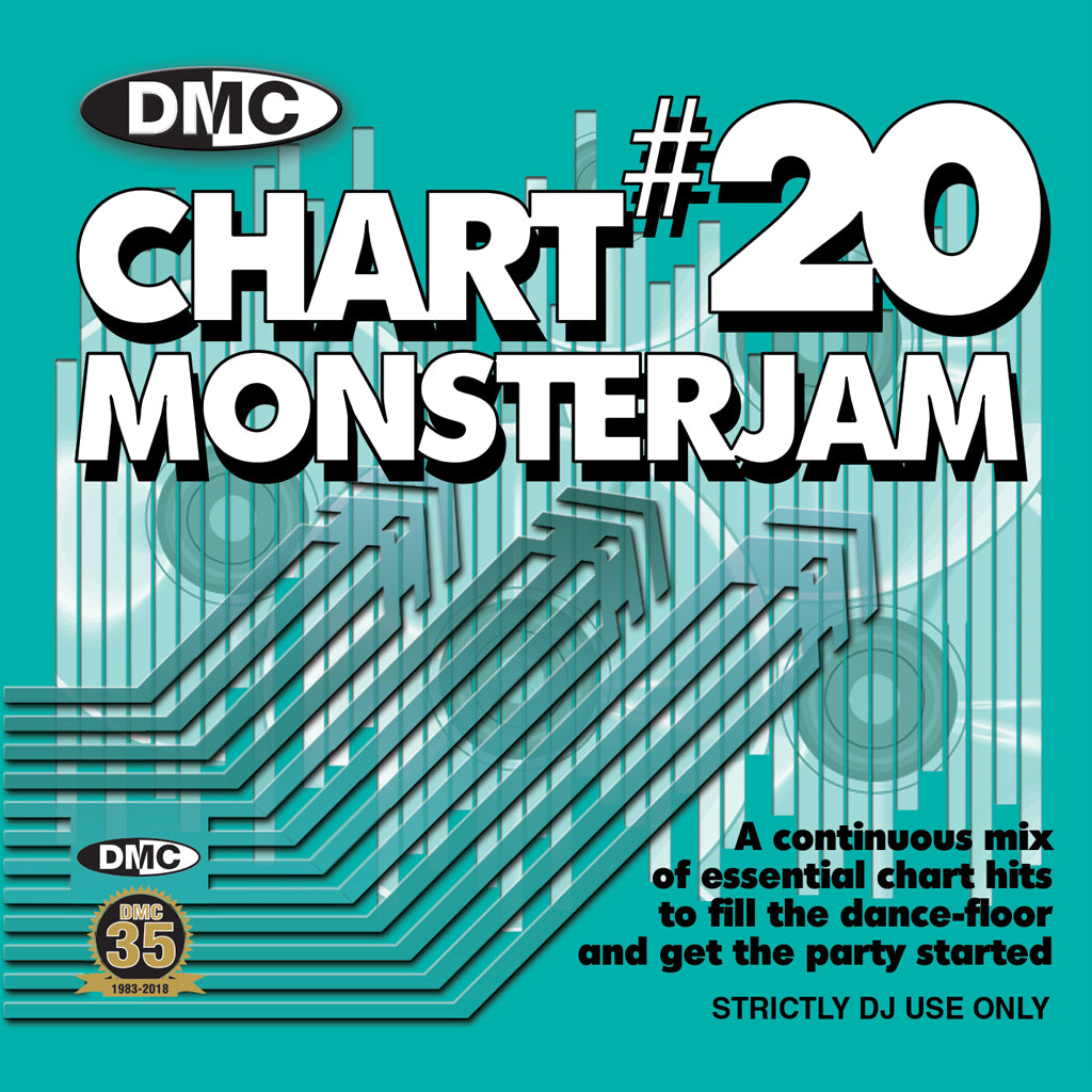 DMC CHART MONSTERJAM #20 - August release