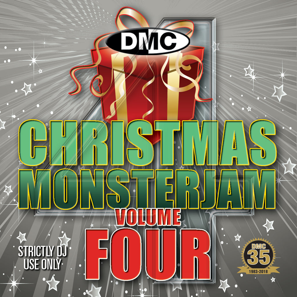 Check Out DMC Christmas Monsterjam 4 - December 2018 release On The DMC Store