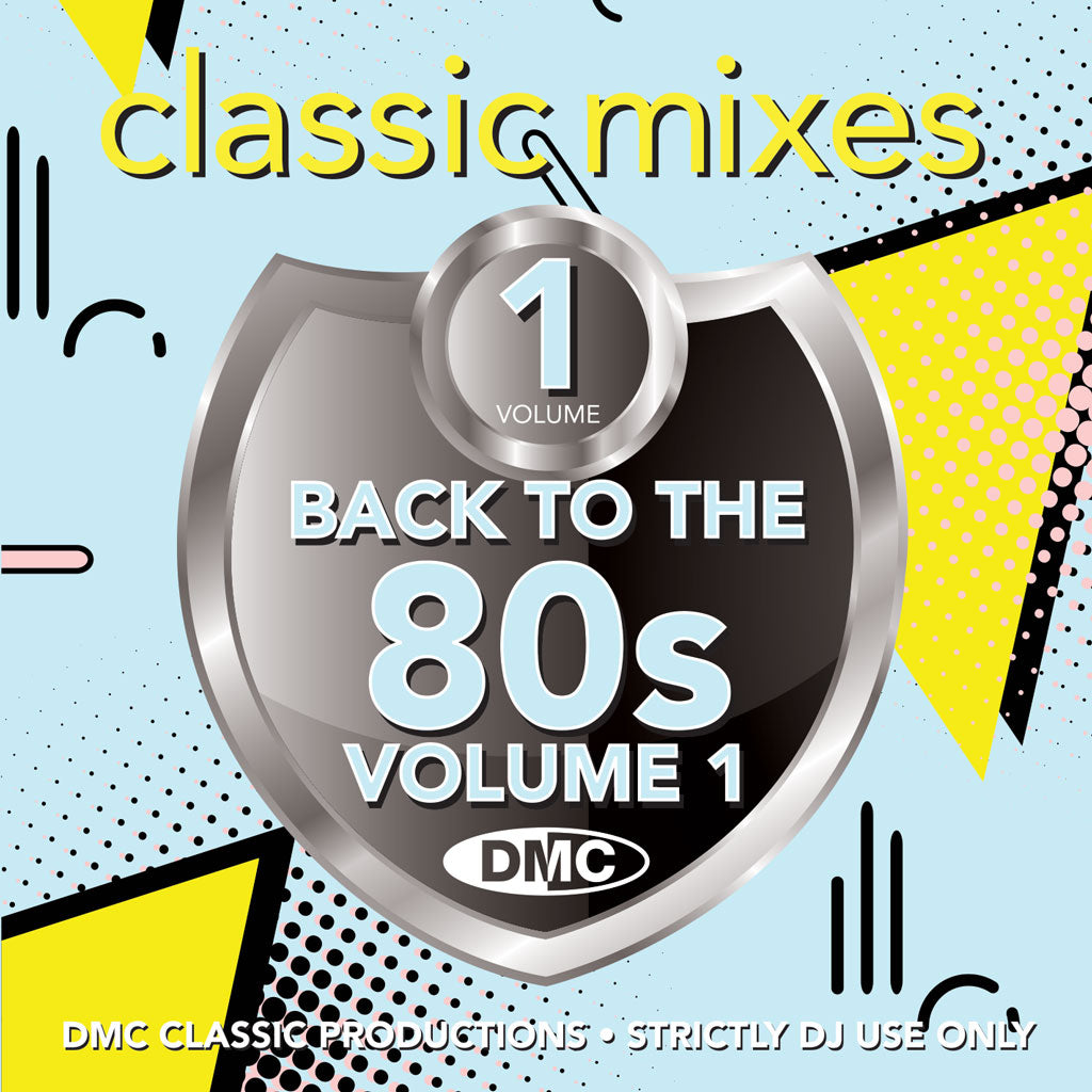 Check Out DMC Classic Mixes - BACK TO THE 80s Vol. 1 - April 2021 release On The DMC Store