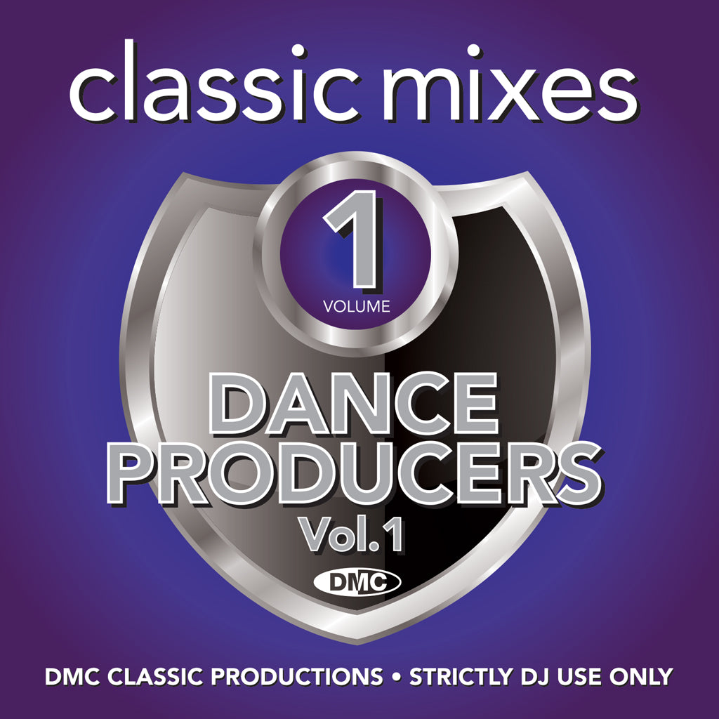 Check Out DMC CLASSIC MIXES -  DANCE PRODUCERS Vol.1 - October 2020 release - not in discount sale On The DMC Store