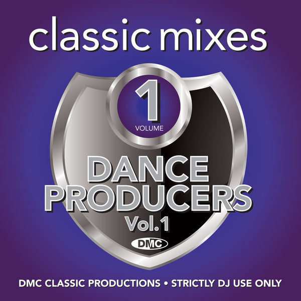 DMC CLASSIC MIXES -  DANCE PRODUCERS Vol.1 - October 2020 release - not in discount sale