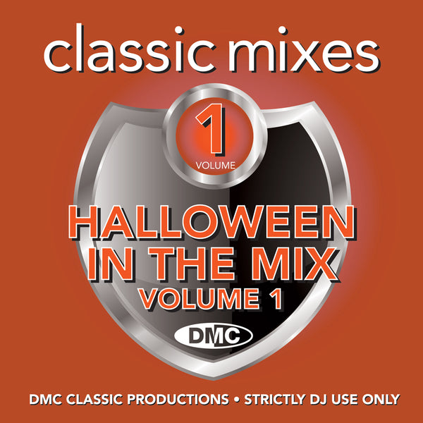 DMC CLASSIC MIXES - NEW - HALLOWEEN IN THE MIX 1  - An essential Halloween selection  - October 2019