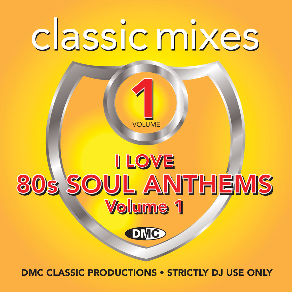 Classic Mixes – I Love 80s Soul Anthems - November 2018 release