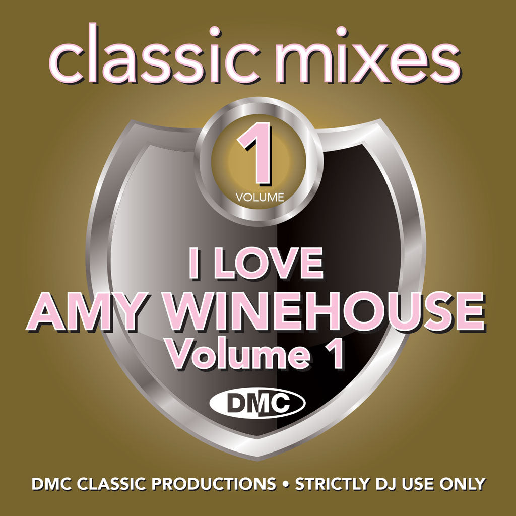 Check Out DMC Classic Mixes – I Love Amy Winehouse - July 2019 release On The DMC Store