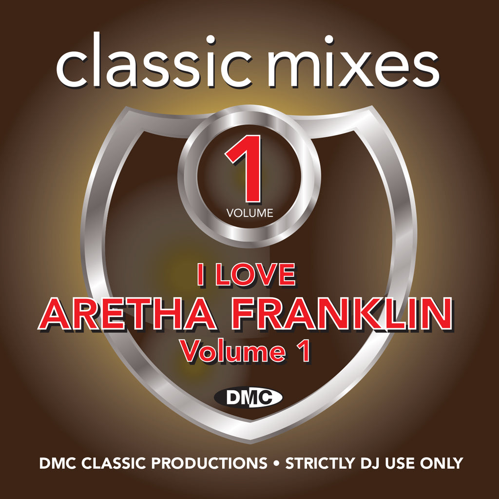 Check Out DMC Classic Mixes - I Love Aretha Franklin - September 2018 On The DMC Store