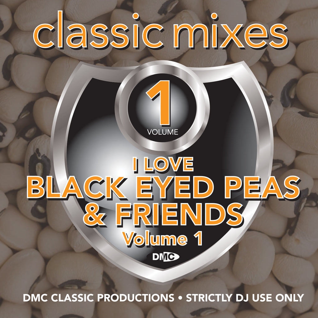 Check Out DMC Classic Mixes - I Love Black Eyed Peas & Friends - November 2018 release On The DMC Store