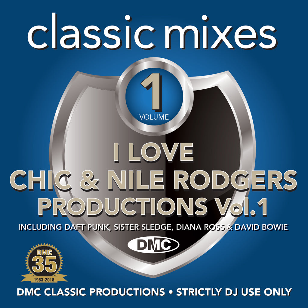 Classic Mixes – I Love Chic & Nile Rodgers Productions