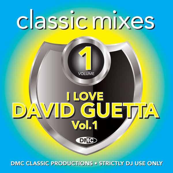 DMC Classic Mixes - I Love David Guetta - October 2019 release