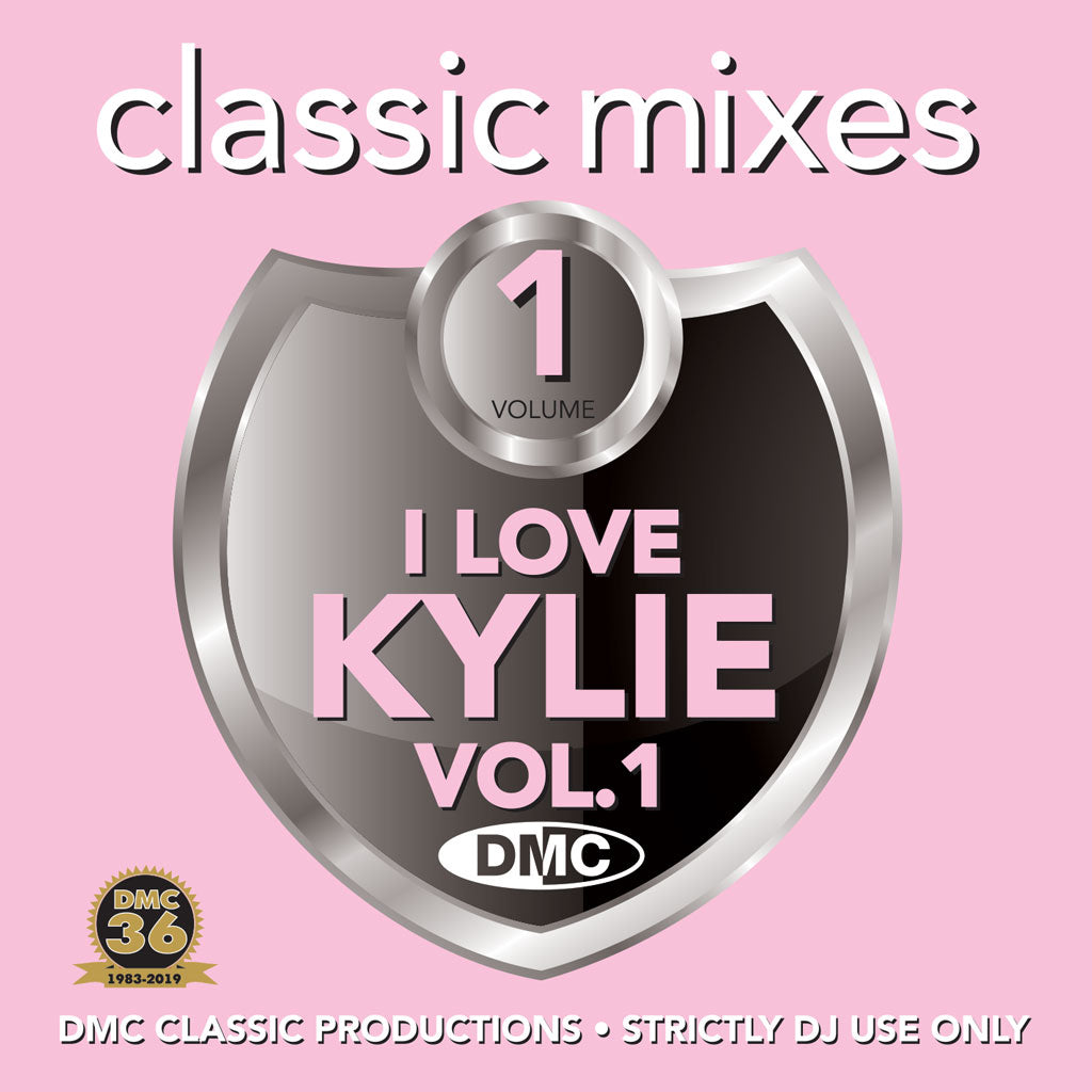 Check Out DMC CLASSIC MIXES – I LOVE KYLIE Volume 1 - An essential selection of exclusive remixes, megamixes & 2-trackers -June 2019 release On The DMC Store