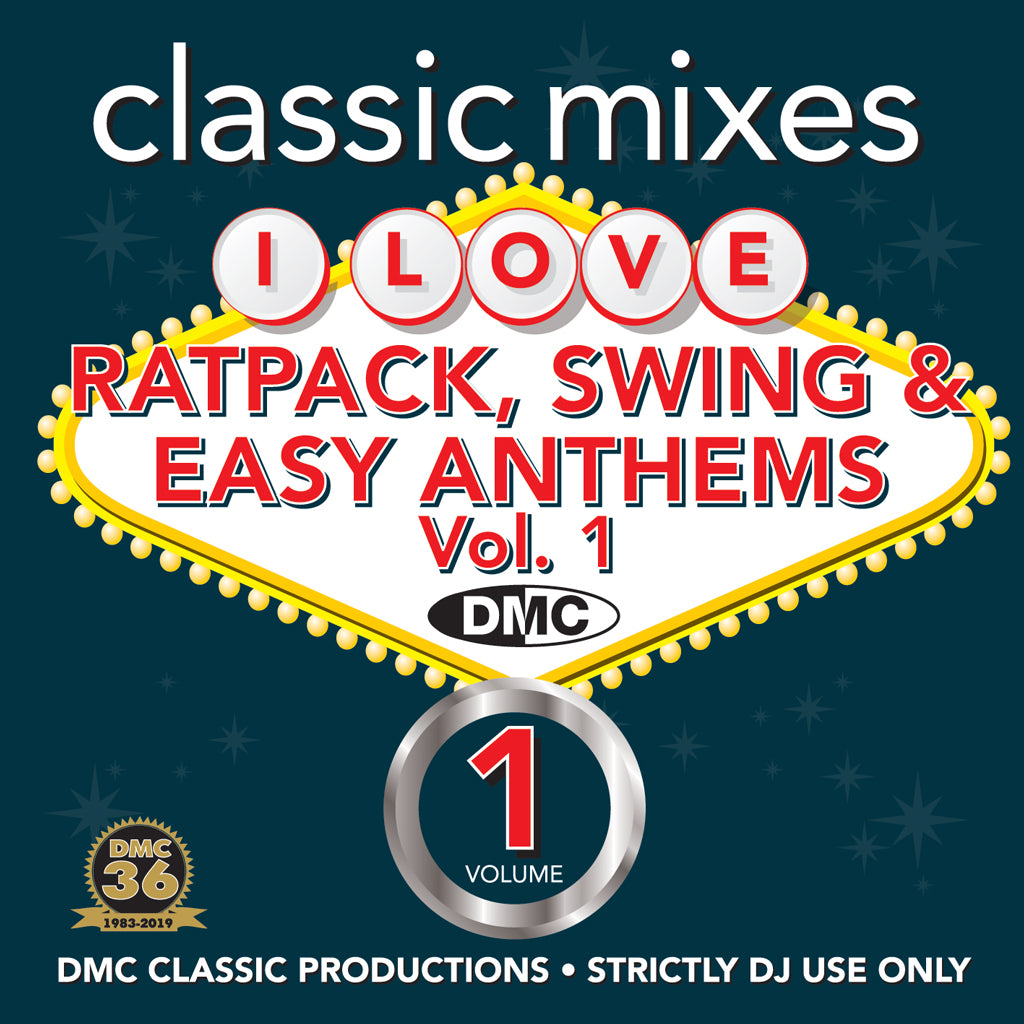 Check Out DMC Classic Mixes – I Love Ratpack, Swing and Easy Anthems - released April 2019 On The DMC Store
