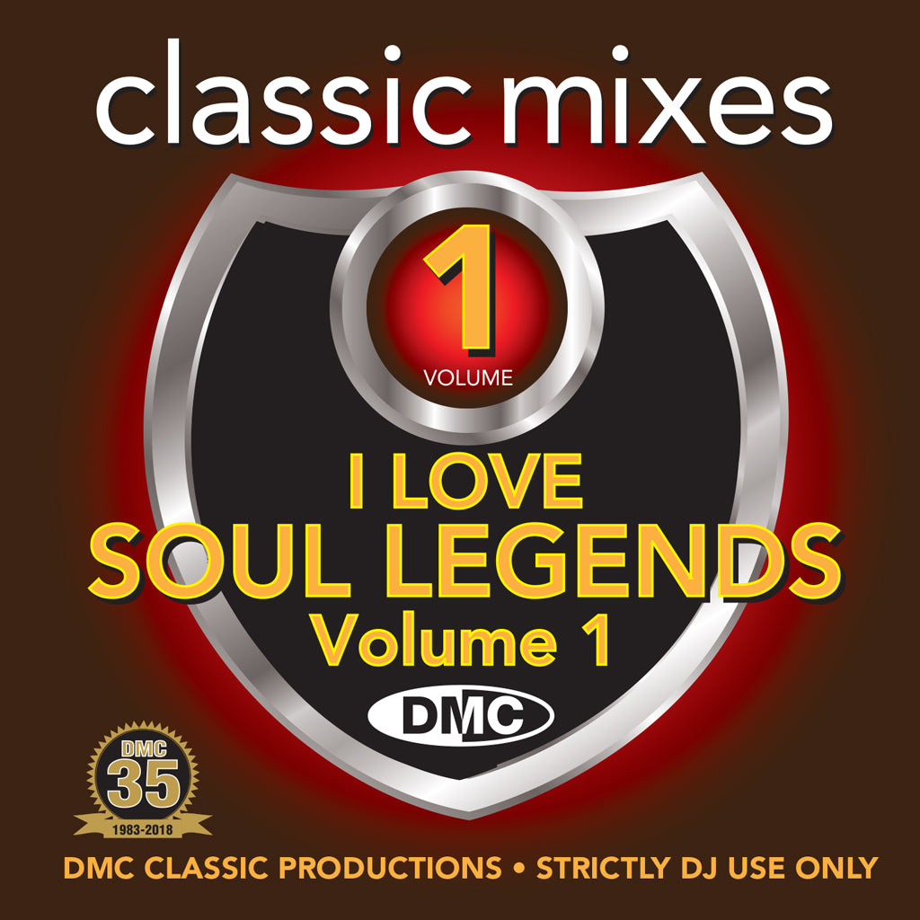 Classic Mixes – I Love Soul Legends - July 2018