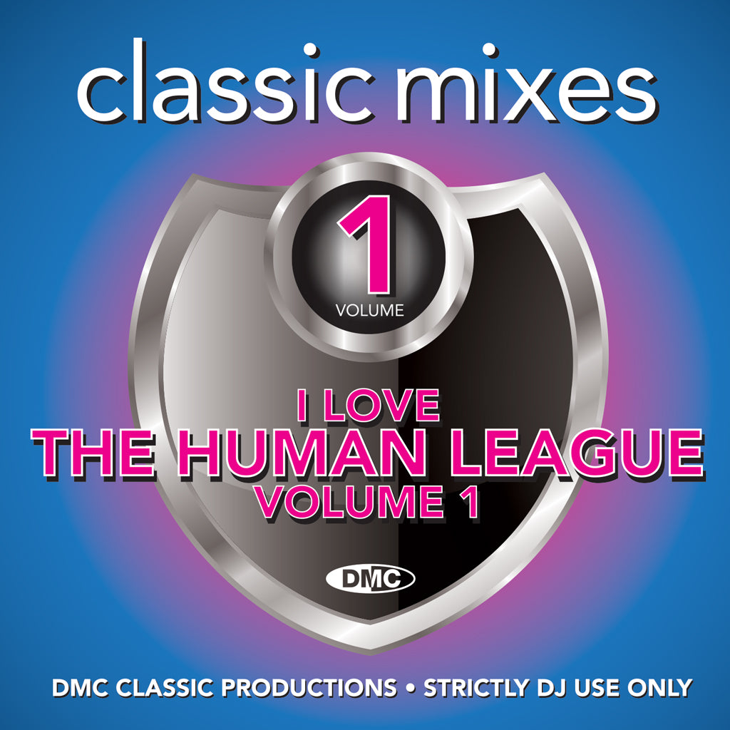 Check Out DMC CLASSIC MIXES – I LOVE HUMAN LEAGUE Vol. 1 - September 2020 release On The DMC Store