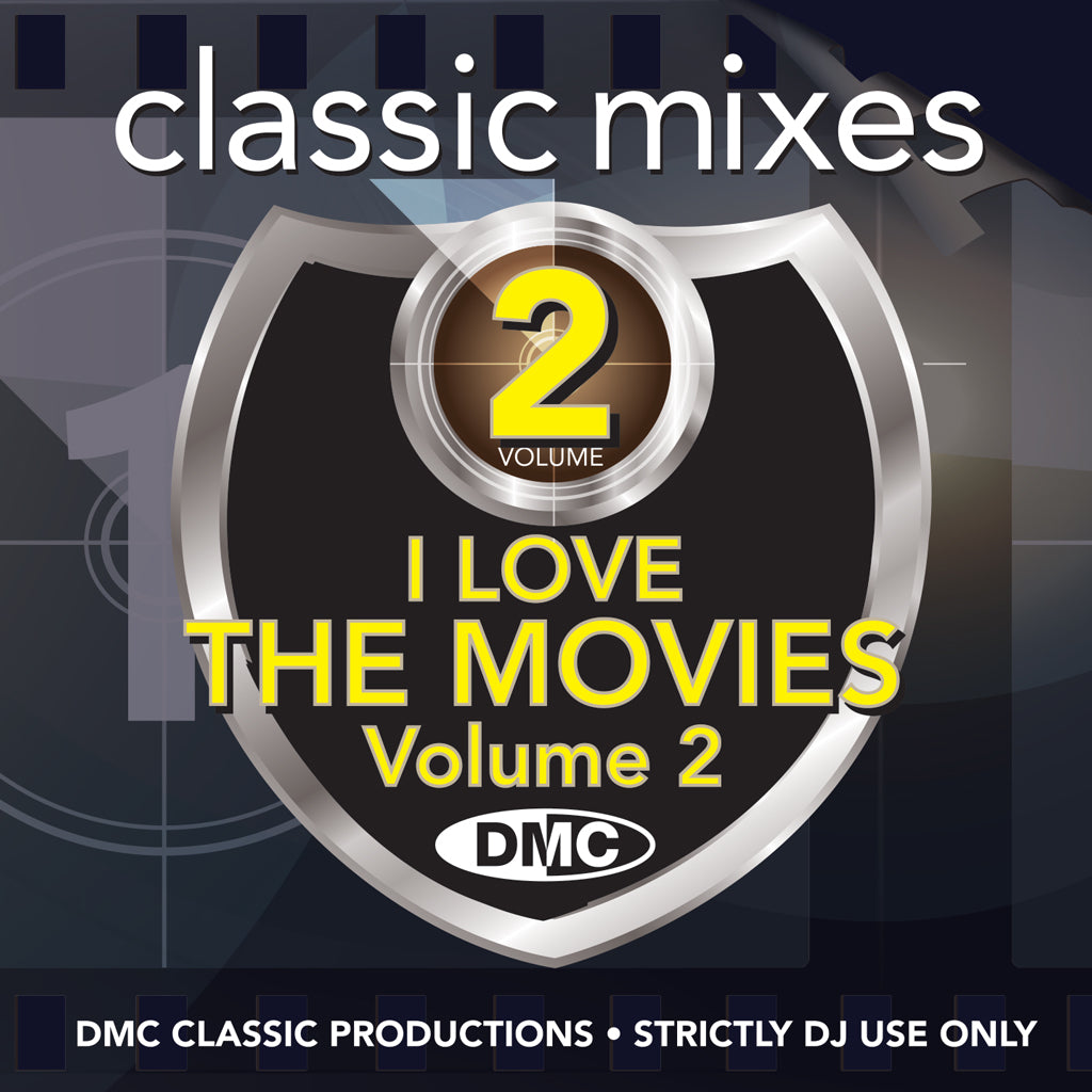DMC CLASSIC MIXES  – I LOVE THE MOVIES 2 - October 2019