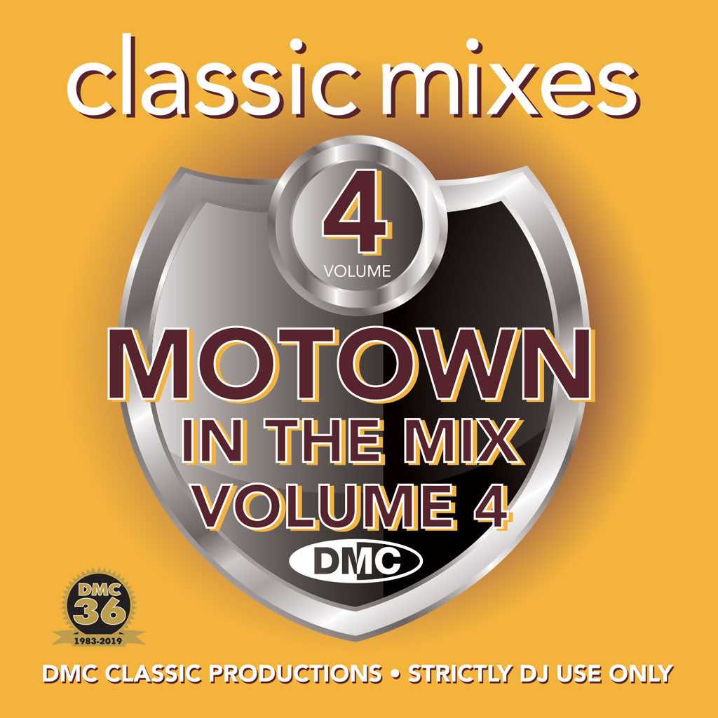 Check Out DMC CLASSIC MIXES – MOTOWN IN THE MIX Volume 4 - May 2019 release On The DMC Store